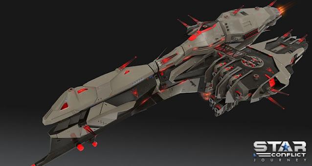 В Star Conflict до 5 июля выдаются задания от ЕЦН на детали корабля Executor