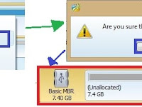 Cara Partisi SD Card/MicroSD 8GB Menjadi 3 Bagian (FAT32, Ext2, dan Linux Swap) Menggunakan MiniTool Partition Wizard
