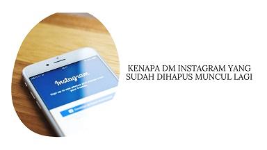 DM Instagram Sudah Dihapus Muncul Lagi