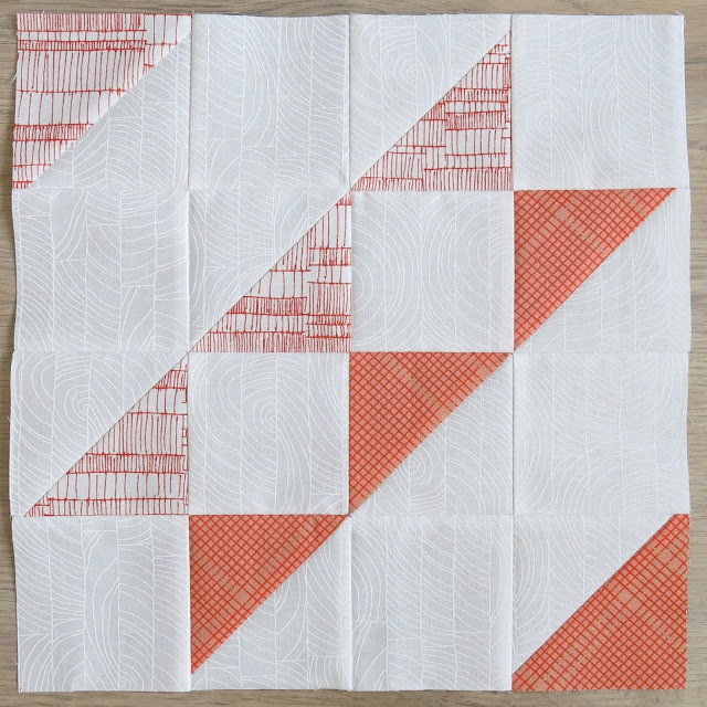 HST Quilt-Along - Block #10 Faceted Stripe - Carolyn Friedlander fabrics