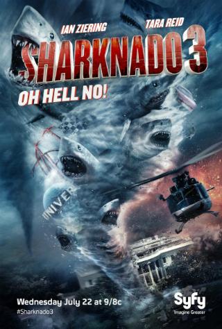 Sharknado 3: Oh Hell No! [2015] [DVDR] [NTSC] [Subtitulado]