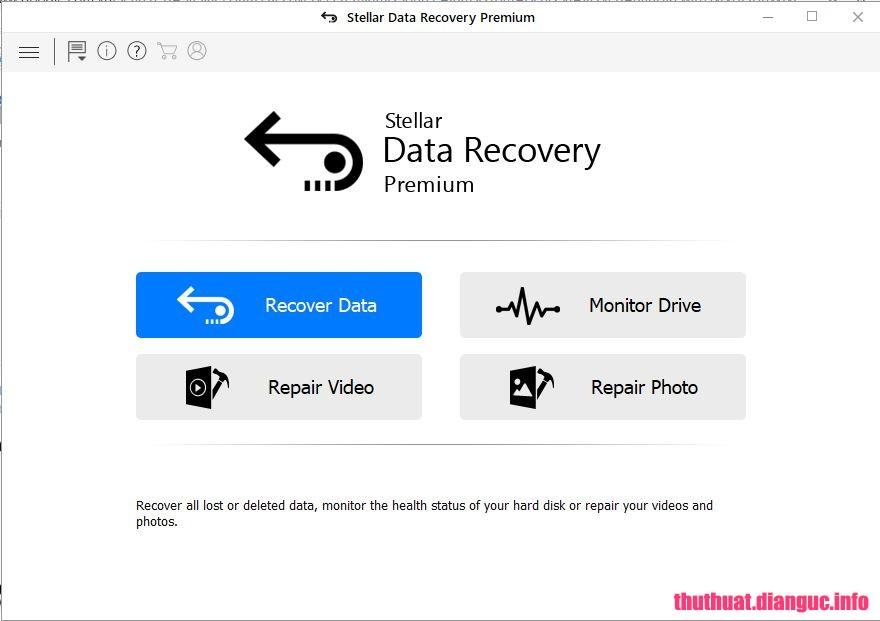 tie-smallDownload Stellar Data Recovery Premium 8.0.0.0 Full Cr@ck – Phần mềm khôi phục dữ liệu mạnh mẽ