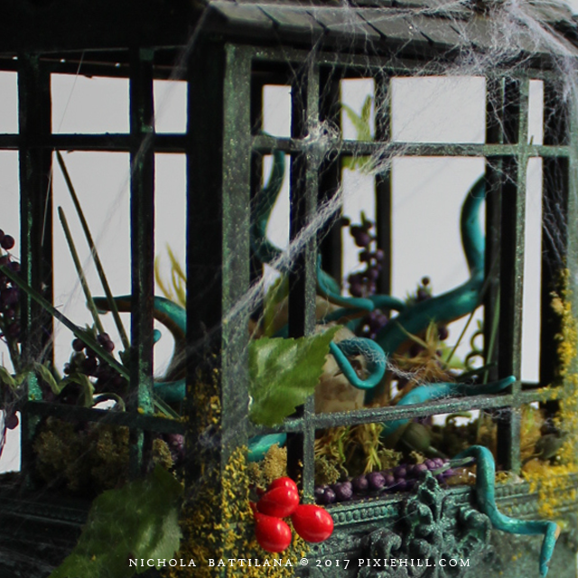 Miniature Dilapidated Greenhouse - Nichola Battilana