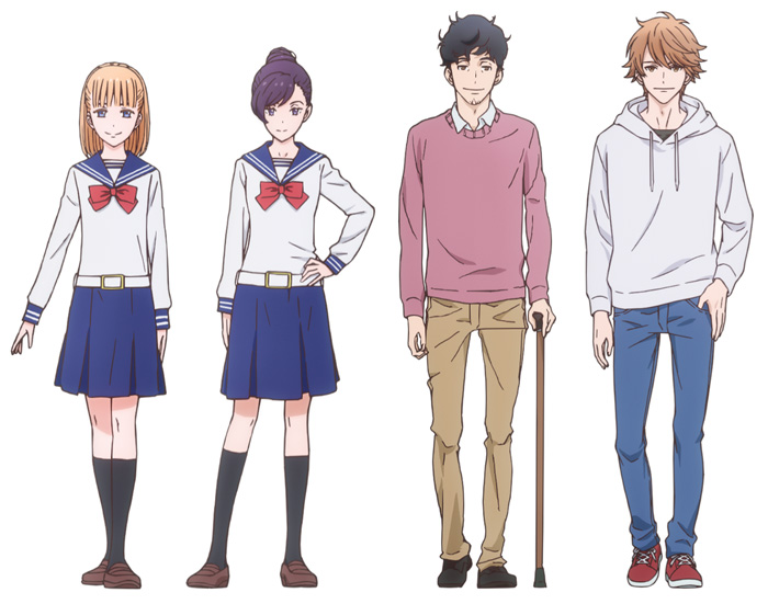 Kageki Shojo! anime - personajes