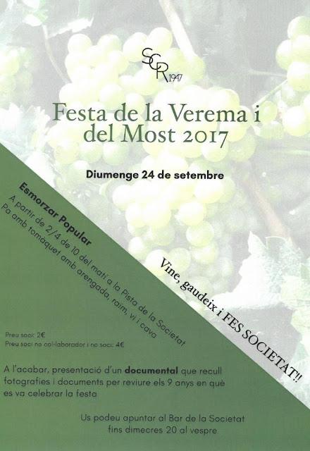 Esguard de Dona - Festa de la Verema i el Most 2017 Sant Jaume dels Domenys