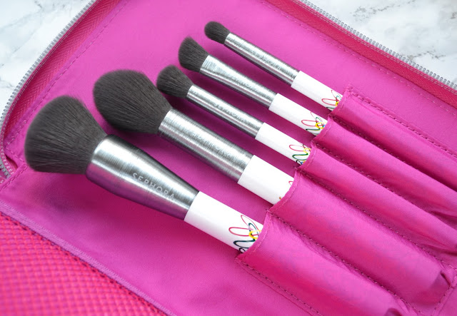 Sephora James Goldcrown Bleeding Hearts Brush Set  Review