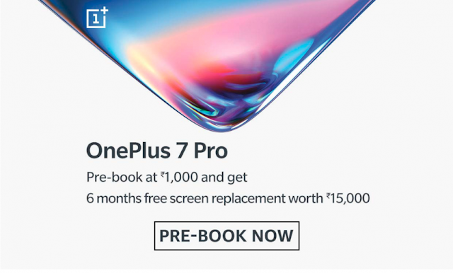Order Oneplus 7 Pro now and get benefits up to Rs: 15000 / $270 -Techzost blog