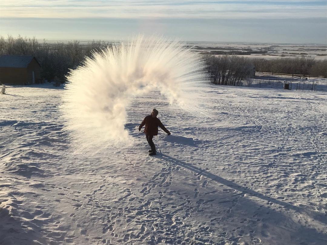 Frosty Day in Canada