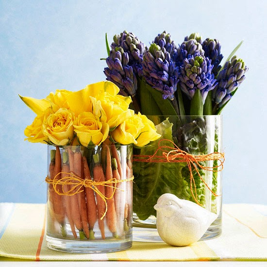 Easy Spring And Easter Decorations