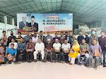 Anggota DPRD Pasaman Barat Baharuddin Buka Bersama dengan Wartawan