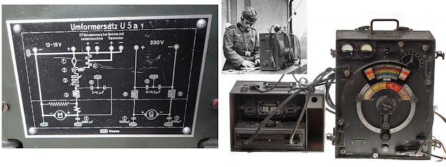 Немецкая переносная радиостанция с УМФОРМЕРОМ