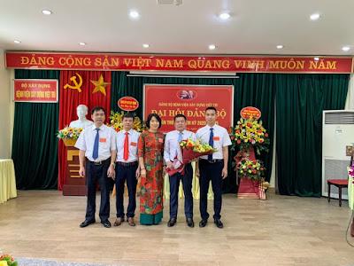 BCH đảng bộ BV Xây dựng Việt Trì nhiệm kỳ 2020- 2025