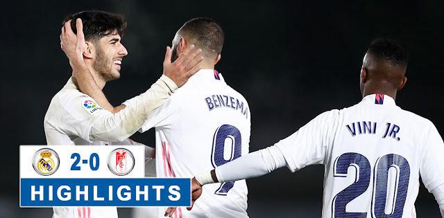 Real Madrid vs Granada – Highlights