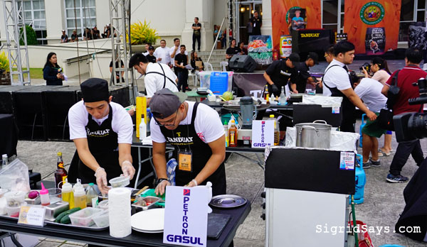 Culinaria Cooking with Rum competition - Bacolod blogger