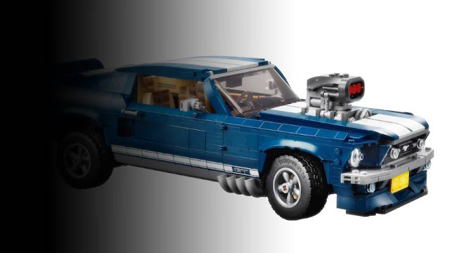 Lego 1967 Ford Mustang Fastback - Lego Mustang GT