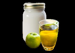 Hidratação com vinagre de Maçã e Creme