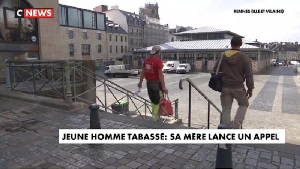 [VIDEO] JEUNE HOMME TABASSÉ À RENNES [BRETAGNE] : SA MÈRE LANCE UN APPEL