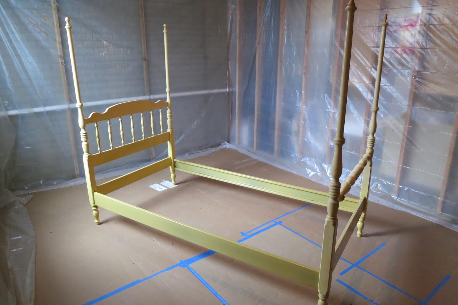 Vintage Ethan Allen Twin Bed Frame