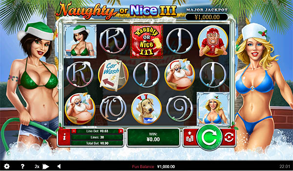 Main Gratis Slot Indonesia - Naughty of Nice 3 RTG