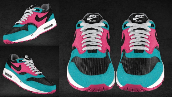 The Slushy Brain: custom nike air max