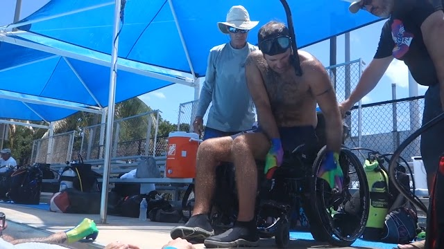 Key Largo Adaptive Diver Training