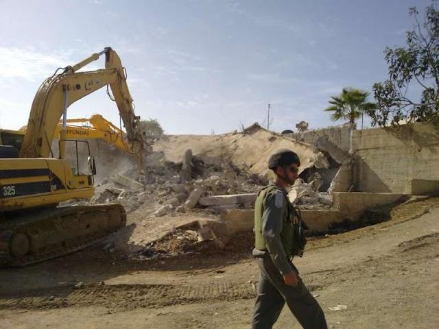 الأمم المتحدة: الاحتلال الاسرائيلي هدم أو صادر 30 مبنى خلال اسبوعين