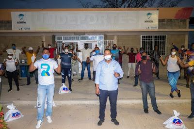 Entrenadores deportivos de Riohacha recibieron ayudas