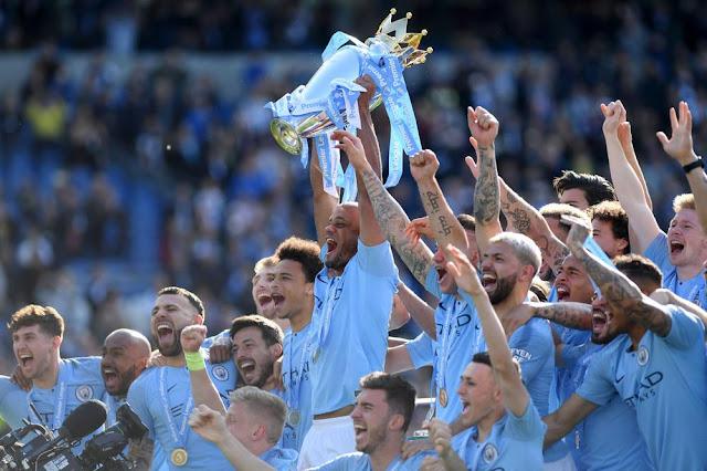 Juara English Premier League Resmi Dikunci Manchester City