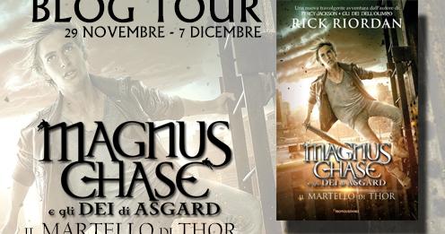 Blogtour | Magnus Chase e il Martello di Thor - Cosa ci aspettiamo?