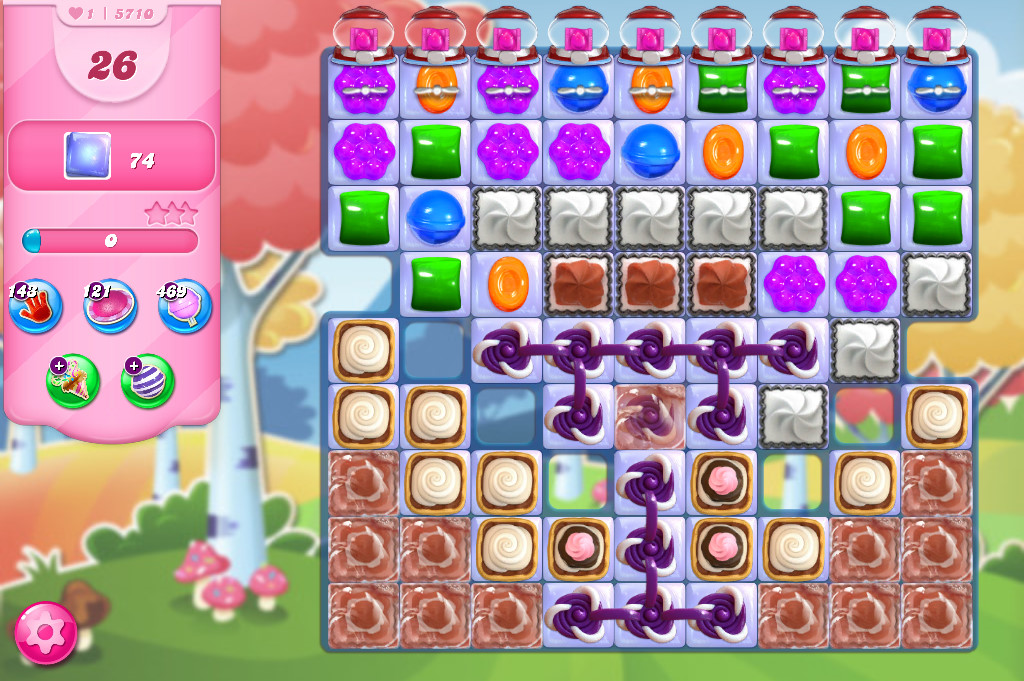 Candy Crush Saga level 5710