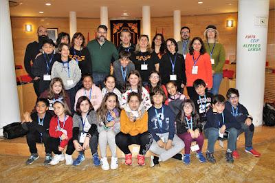 Yincana cosladeña - Salón de Plenos del Ayuntamiento de Coslada