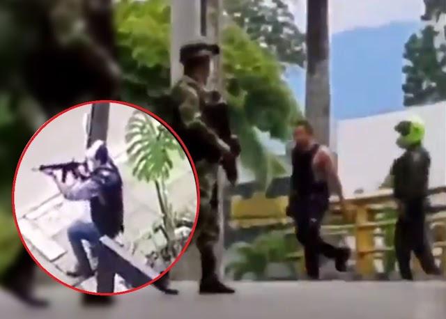 Simplemente, 10 policías identificados: G. Murillo sobre armas de civiles en marchas