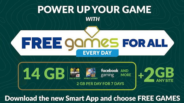 Smart and TNT Prepaid subscribers Free Games for All