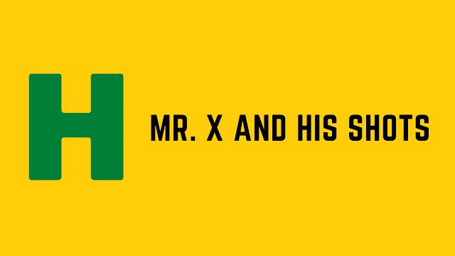 HackerRank Mr. X and His Shots problem solution