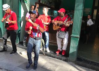 Havana street musicians