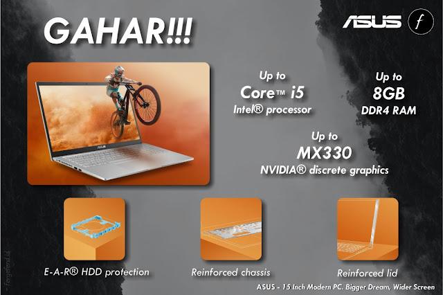 Spesifikasi ASUS VivoBook 15 A516