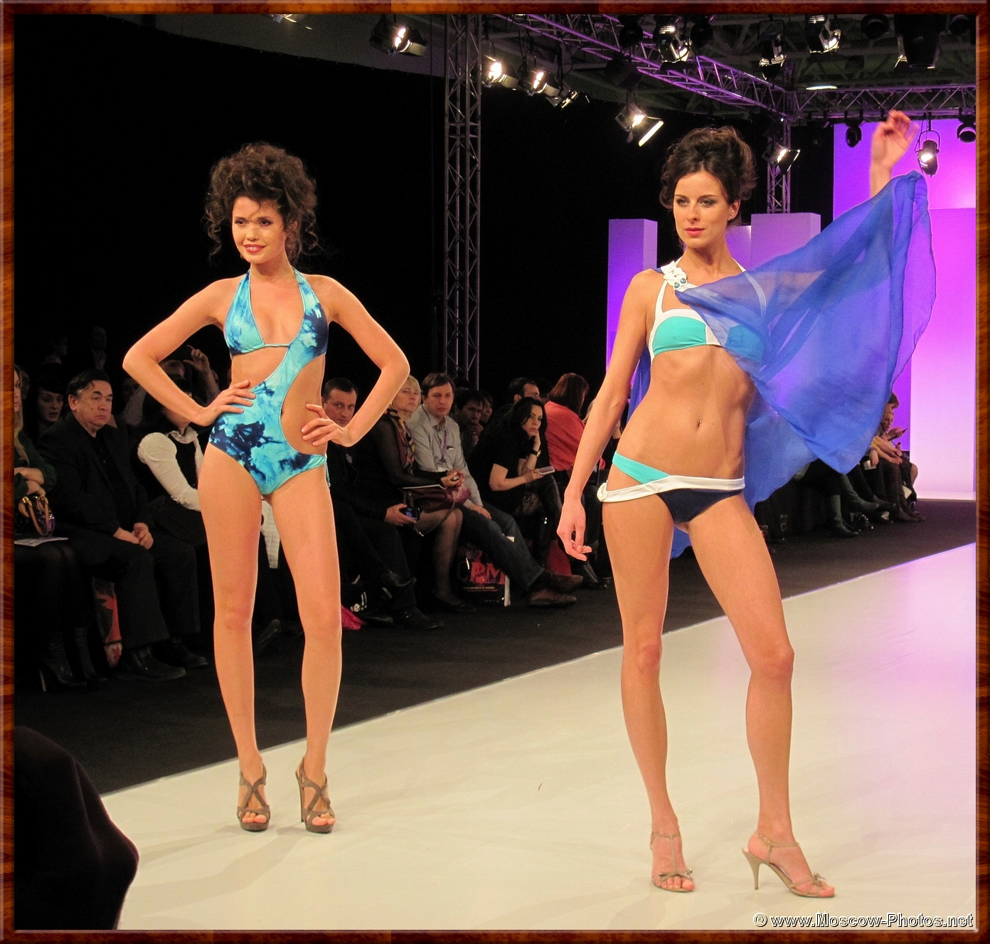 Nika Sobolevskaya Lingerie Fashion Show at Collection Premiere Moscow