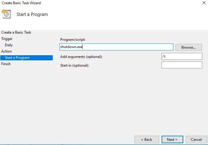 طريقة جدولة إيقاف تشغيل ويندوز10 ىوبدء تشغيله