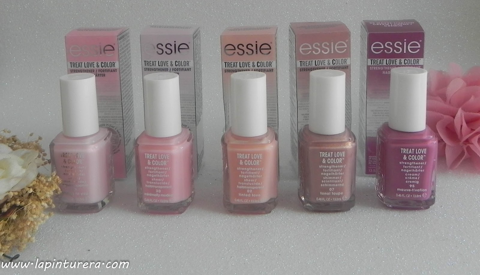 Essie Treat Love and color: Cuidado y color, en un sólo paso | La ...