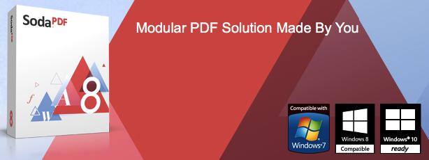 Soda PDF 8 Offline Installer