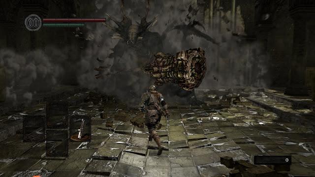 Screenshot Gameplay Dark Souls: Remastered