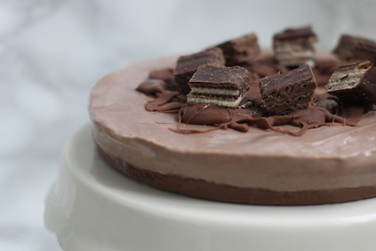 Chocolate Wafer Cheesecake