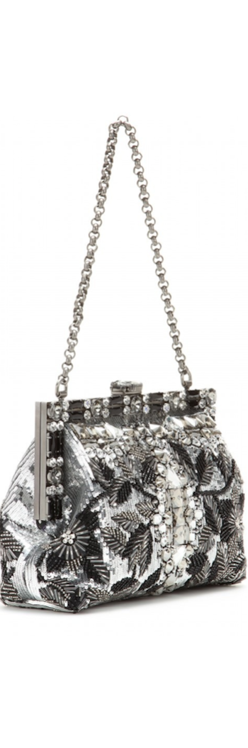 Dolce &  Gabbana Vanda Embellished Satin Clutch