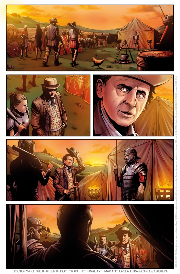 Doctor Who 13th Doctor #0: The Many Lives of Doctor Who Preview