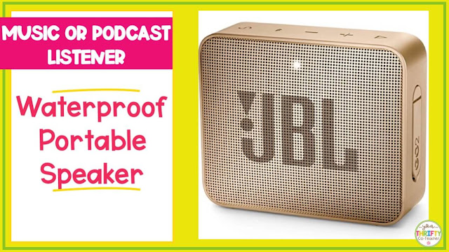 Looking for a Christmas gift for teachers? A bluetooth speaker might be the answer.