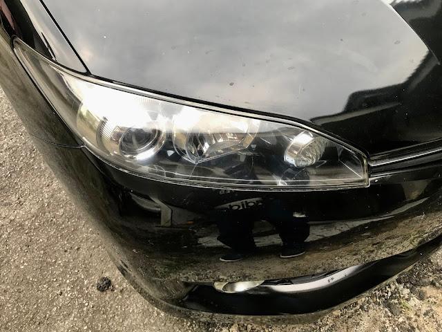 Coating lampu kereta untuk hilangkan kekuningan