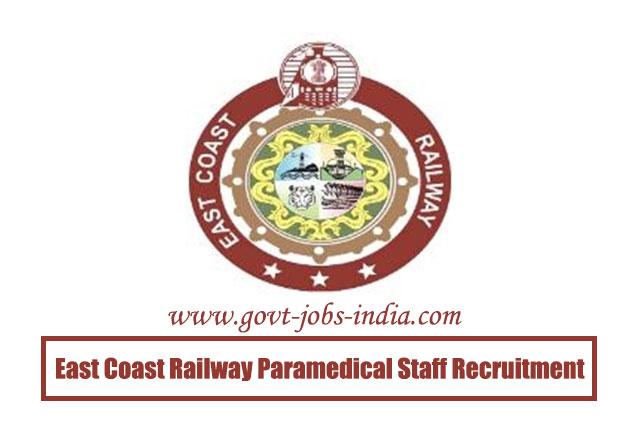 East Coast Railway Paramedical Staff Recruitment 2020 – 561 Staff Nurse, Pharmacist & Hospital Attendant Vacancy – Last Date 22 May 2020
