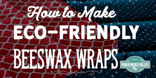 This eco-friendly alternative to plastic wrap is easy to make.