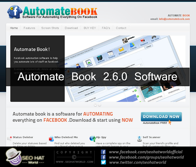 Download AutomateBook 2.6.0 Software Free