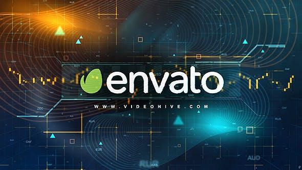 Videohive - Digital Finance Intro - 21080045